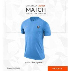OFFRE PACK MATCH ADULTE BRONZE MANCHES COURTES