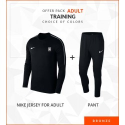 OFFRE PACK TRAINING ADULTE BRONZE PARK18